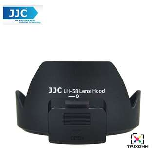 JJC LH-58 Lens Hood for Nikon AF-S DX NIKKOR 18-300mm f/3.5-5.6G ED VR Lens Camera Side Window for ND CPL( HB-58 )