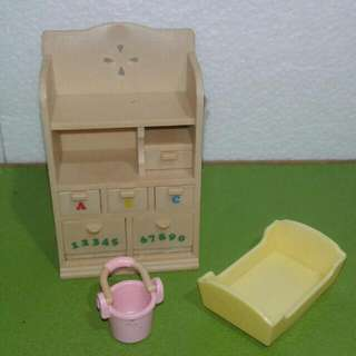 Sylvanian Families Baby Cabinet