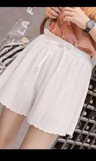 雪紡橡筋裙褲
