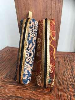 Pouch tempat pensil batik