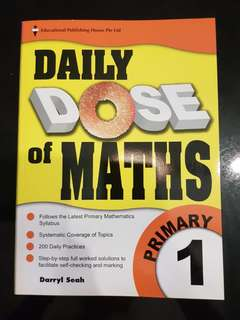 Daily dose of Maths Primary 1