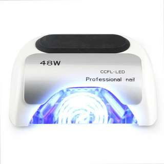 Professional Nail Care Equipment 48w CCFL + LED Lamp White Color Nail Art LED Gel Lamp Nail Light LED Nail Polish Dryer
