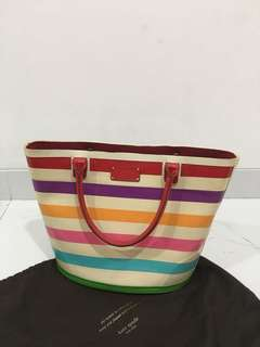 Kate Spade ♠️ 'wellie magee' rubber tote