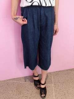 韓國牛仔七分褲(J183)