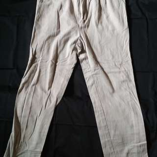 Celana chinos size 36