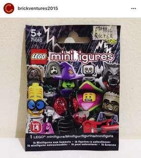 Lego Minifigure Zombie Rocker