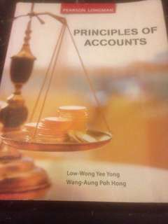 Principles Of Accounts (for those preparing GCE 'N' and 'O' level Examinations)