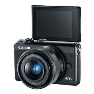 Canon EOS M100 with EF-M 15-45mm f/3.5-6.3 IS STM Lens