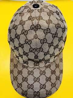 OG Gucci Canvas Baseball Hat With Web