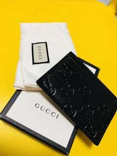 Gucci Signature Card Holder