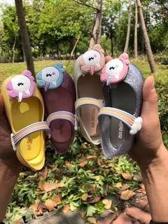 Melissa彩虹小馬兒童果凍鞋