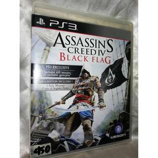 PS3 game - Assassin's Creed IV Black Flag