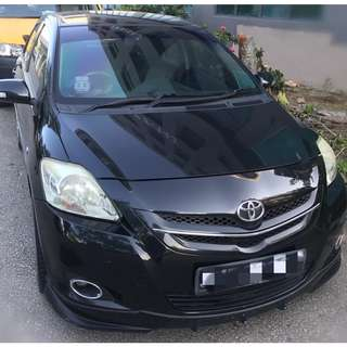 Toyota Vios/ Altis. Call or WA 81450033/22 for Rental. P-plate allow car rental.