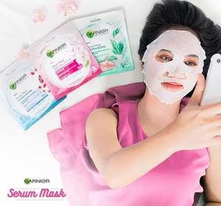 Tissue Masker Garnier