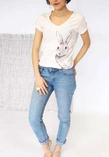 🇫🇷法國品牌 Nach 兔子T-Shirt