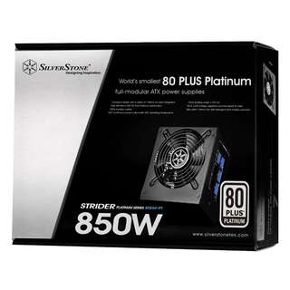 SILVERSTONE Strider 850W 80 Plus Platinum Full Modular Power Supply