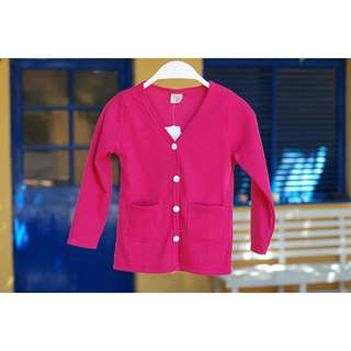 Korean style kids knitted jacket(long sleeve with pocket)#Ramadan50