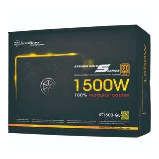SILVERSTONE Strider Gold 1500W 80 Plus Gold Full Modular Power Supply