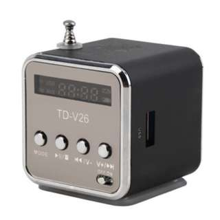 (75)Portable TF USB Mini Stereo Speaker Music Player FM Radio PC MP3 /4