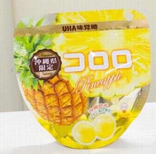 日本🇯🇵UHA味覺糖 鳳梨🍍口味 現貨