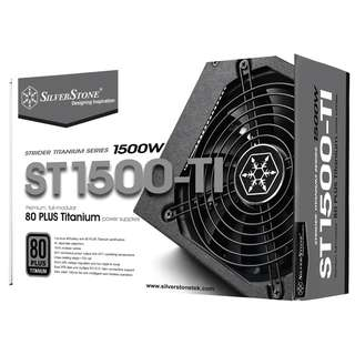 SILVERSTONE Strider Gold 1500W 80 Plus Gold Full Modular Power Supply
