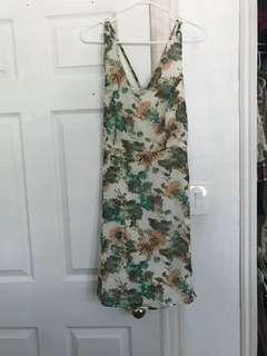 F21 floral dress S