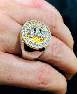 Bitcoin Diamond Lab Ring