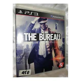 PS3 game - The Bureau