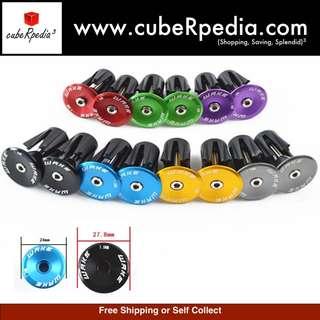 Wake handle bar stem clamp plug cover cap