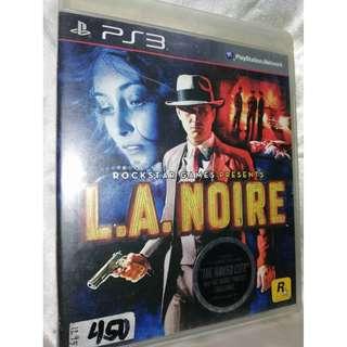 PS3 game - L.A. Noire