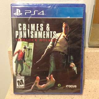Crimes and Punishments Sherlock Holmes for Sony PS4