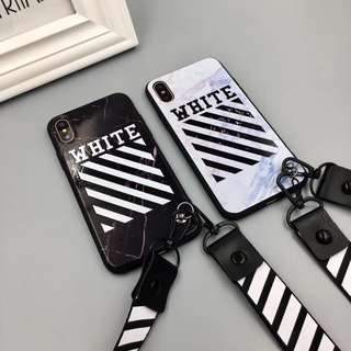 [iPhone 6+ to 8+] 'OFF-WHITE' Cases