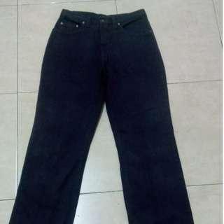 Vintage Versace Jeans SIgnature Medussa Head Purple Jeans