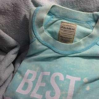 Sweater Lengan Pendek Pull & Bear
