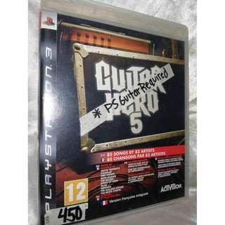 PS3 game - Guitar Hero 5