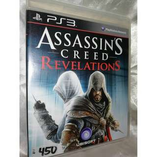 PS3 game - Assassin's Creed Revelations