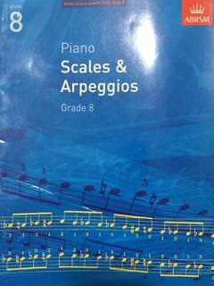ABRSM Scales and Arpeggios Grade 8