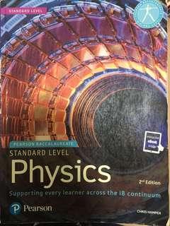 Pearson IB Physics SL Textbook standard level
