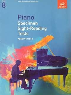 ABRSM Sight Reading Grade 8
