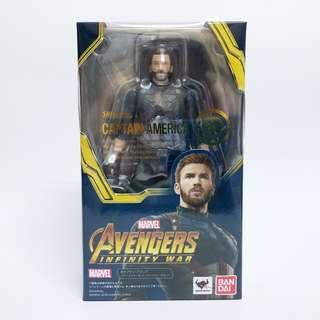S.H.Figuarts SHF Avengers Infinity War Captain Amercia