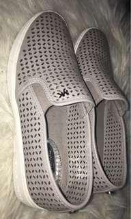 MK grey slip ons (size 7)