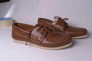 Sepatu Family Bunut Shoes reguler Tan