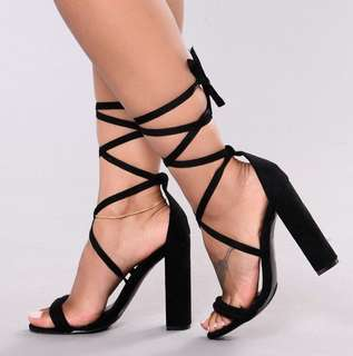 Fashion Nova Heels *BRAND NEW* 5.5