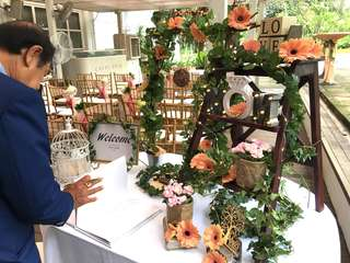 Reception/Album Table Styling