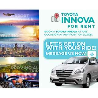 Toyota Innova Car for Rent