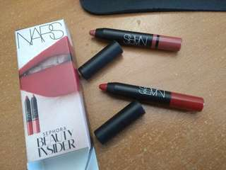 NARS Birthday Sample Lipstick Duo