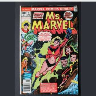 Ms Marvel #1 (Captain Marvel)