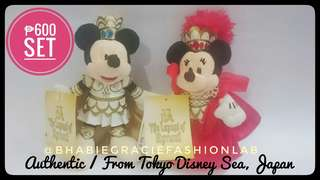 Mickey and Minnie Couple Plushies