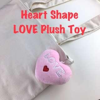 Heart Shape LOVE Plush Toy Soft Toy Plushie