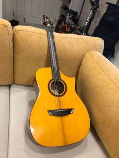 Cort LUXE-NAT Frank Gambale Signature Acoustic Guitar w/Case, Natural